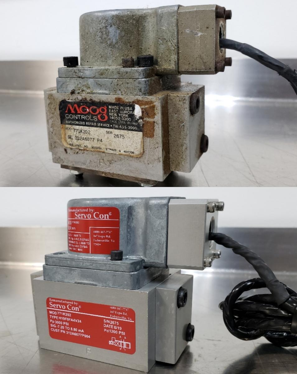 Moog Servo Repair
